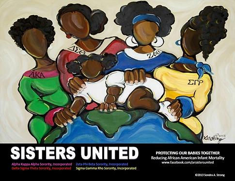 SISTERS UNITED print