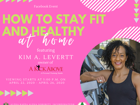 How to Stay Fit and Healthy at Home