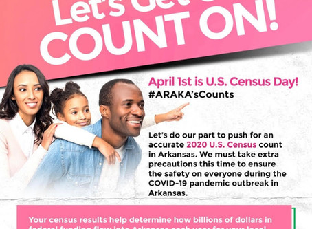 Let's Get Our Count ON: Make Sure YOU are counted