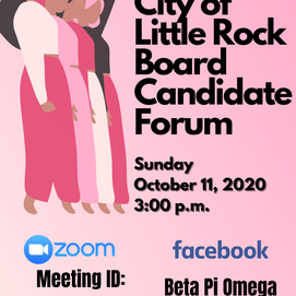 City of Little Rock Board Candidate Forum