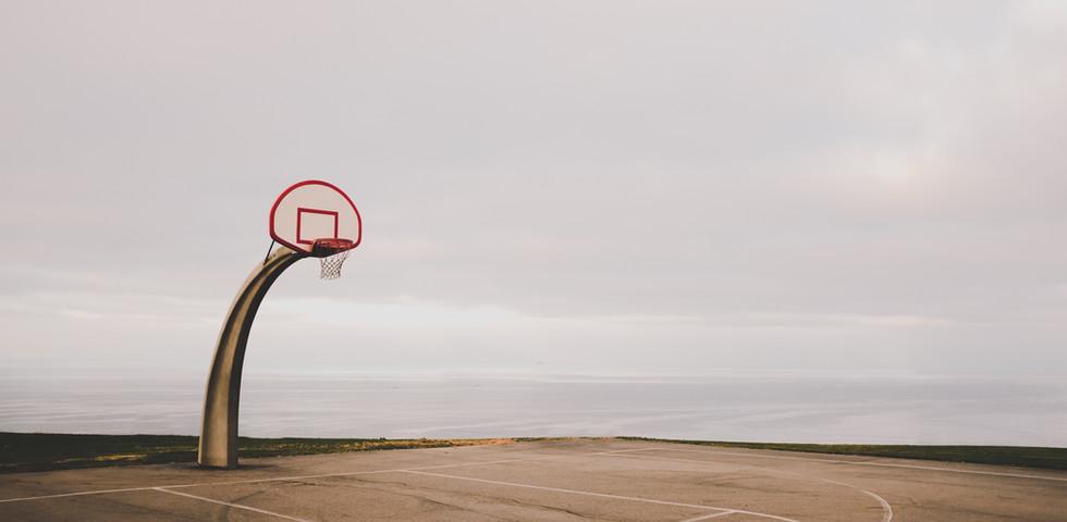 バスケットボールのコート