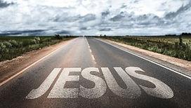Jesus written on rural road.jpg