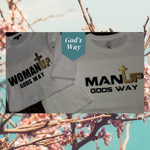 God's Way Couple's Tees