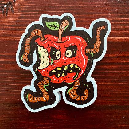 Rotten Apple Sticker