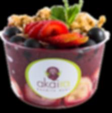 Bowl de Frutas con Sorbet de Acai