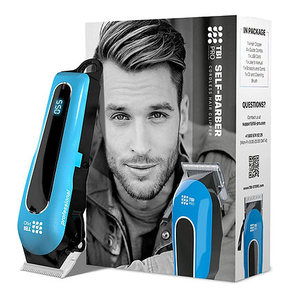 Self-Barber | Cordless Hair Clipper & Beard Trimmer | +LED Display.