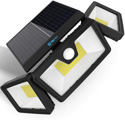 Security Solar Lights Outdoor 216 LED 2200LM - Wireless LED Solar Flood Lights