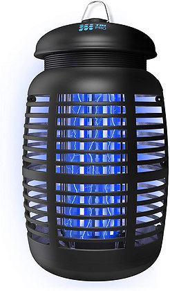 TBI Pro Bug Zapper for Outdoor & Attractant - Effective 4000V Electric Mosquito