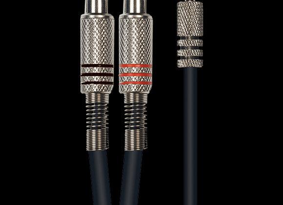 Cable Audio, jack stéréo 3,5 mm - 2 rca, 3 m