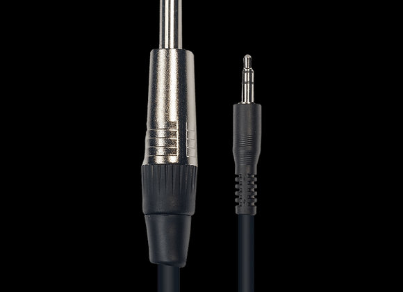 Cable jack stéréo - 3,5 jack mono, 3m