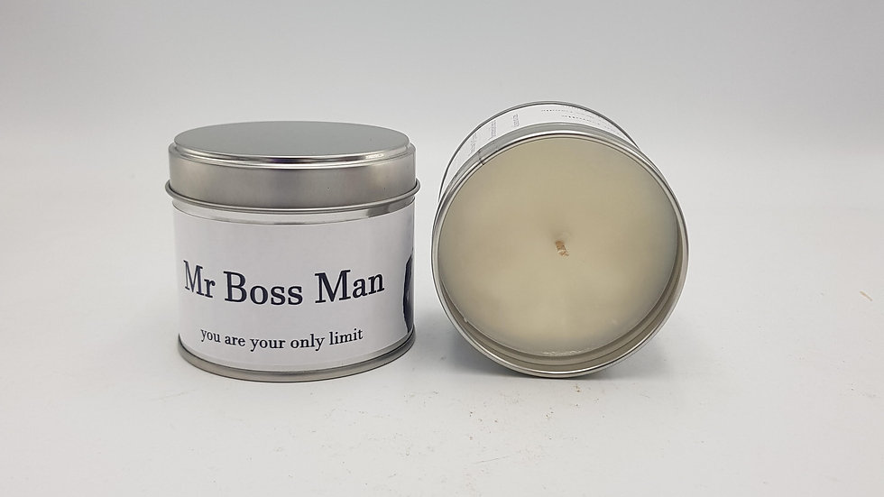 Boss Man Scented Candle