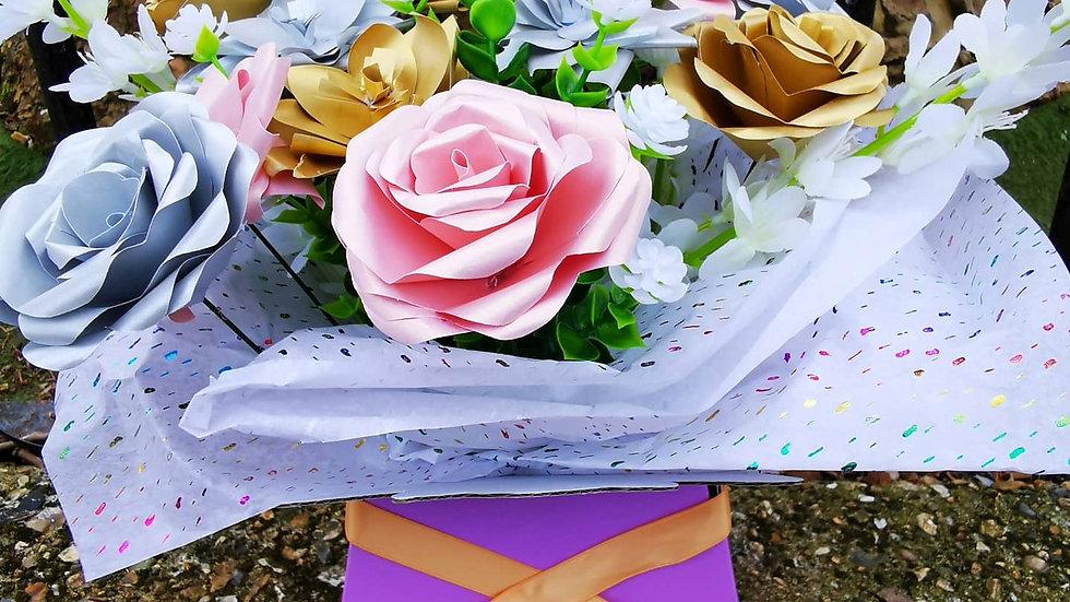 Paper Bouquet