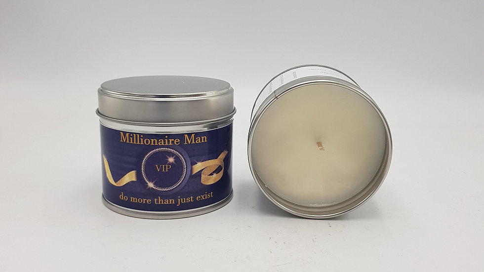 Millionaire Man Scented Candle