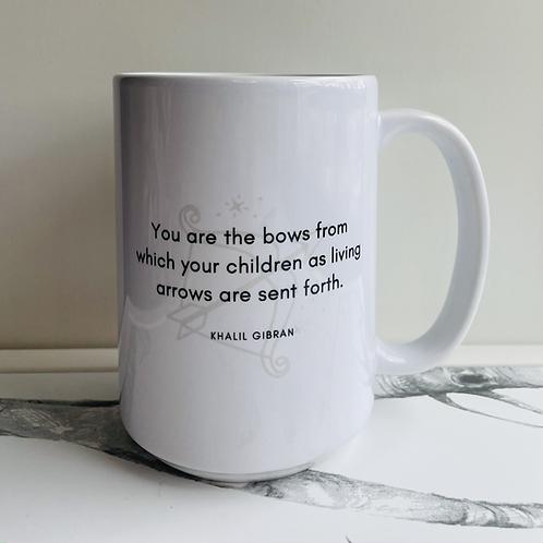Mug - Gibran's 'On Children'