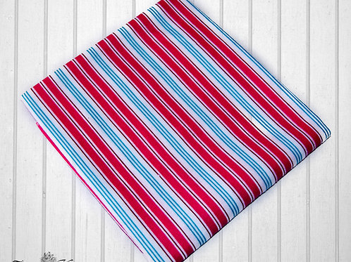 Red stripes - Receiving Blankets