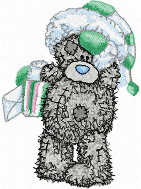 Tatty Teddy - Green and White hat