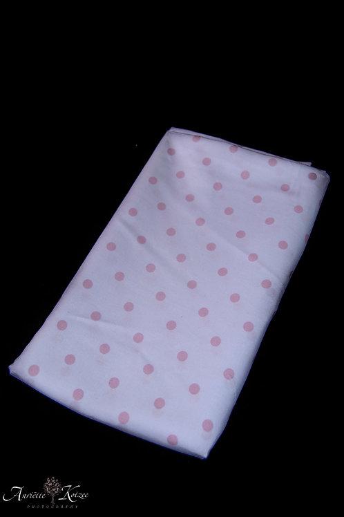 Cot Textiles - Pink Polka Dots