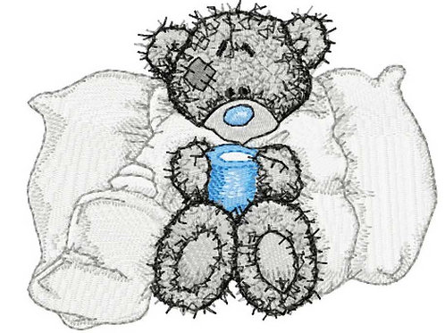 Tatty Teddy - Big pillow