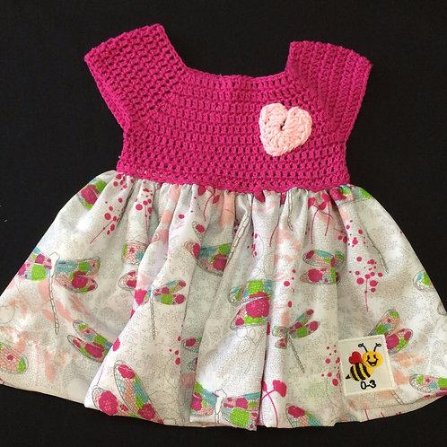 Summer Dresses - Pink (0-3m)