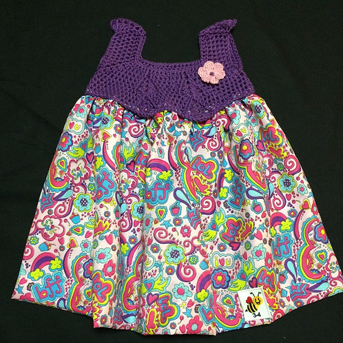 Summer Dresses - Purple (3-4 years)
