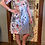 Thumbnail: Grey floral dress
