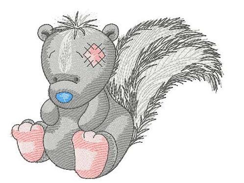 Tatty Teddy Friend - Skunk