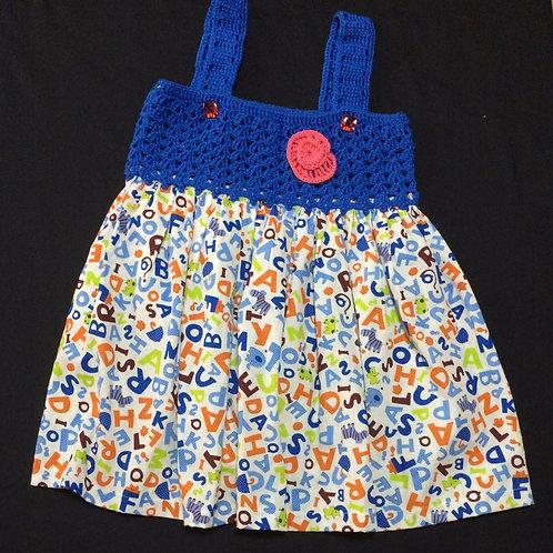 Summer Dresses BLUE (7 - 8 Years)
