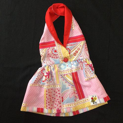 Halterneck Dress - Red (06-12m)