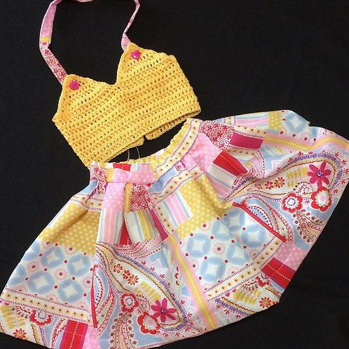 Summer dresses - Halter neck (0 - 3m)