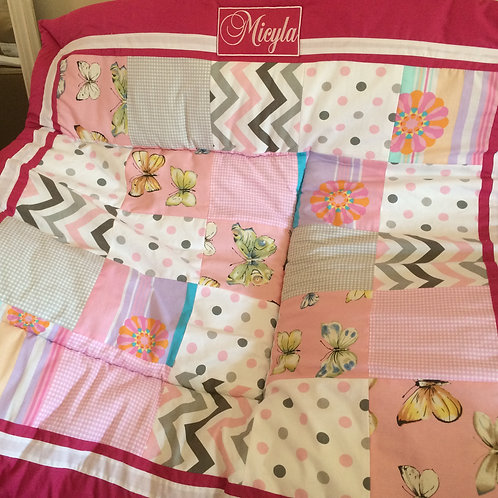 Girl Special order - Blanket in a bag