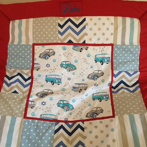 Boy Special order - Blanket in a bag