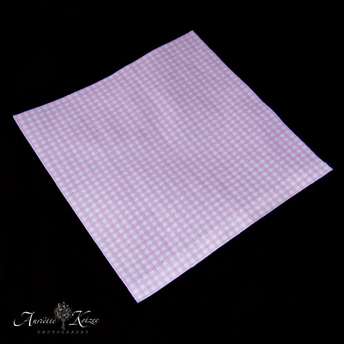 Cot Textiles - Pink Check