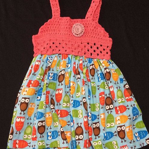 Summer Dresses - Owl (18 - 24 m)