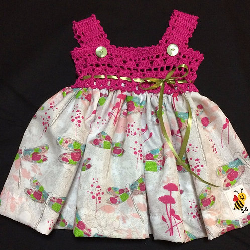 Summer Dresses - Pink and Green (3-6m)