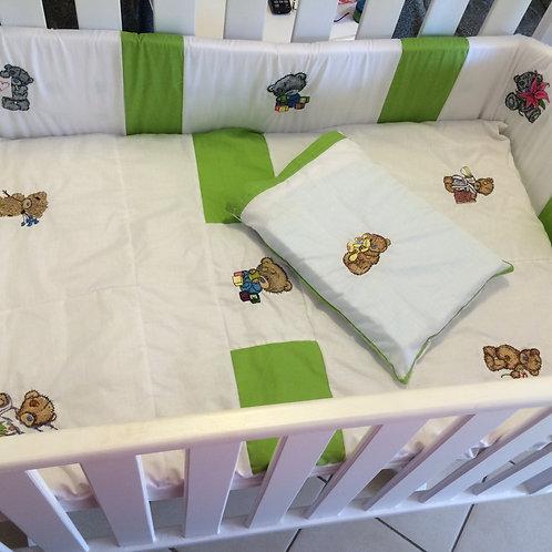 Cot Quilts -  linen