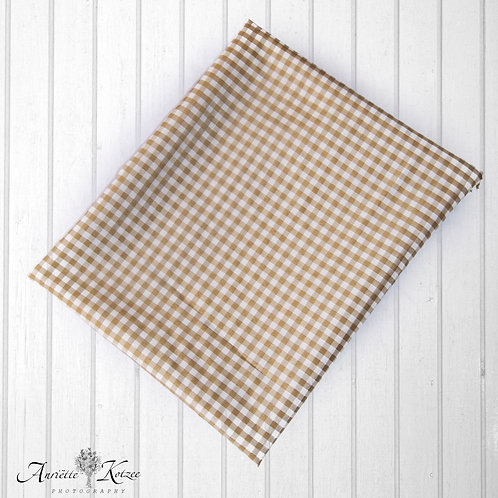 Brown Check - Dress