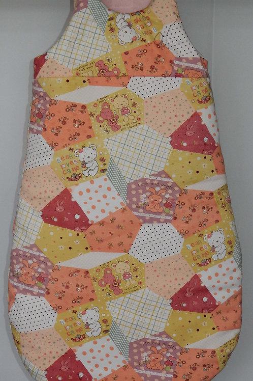 Orange Sleeping bag 3-6 Months