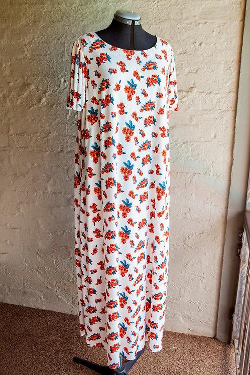 Long Summer Dress - Plus size1
