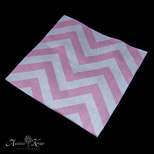 Cot Textiles - Pink Zig Zag