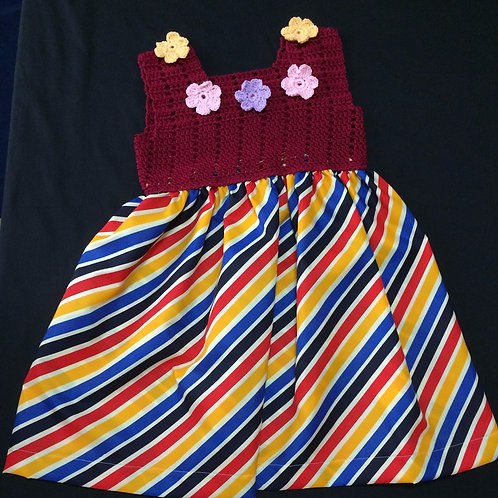 Summer Dress - Stripes (5-6 Years)