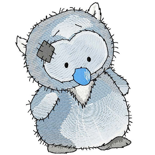 Tatty Teddy Friends - Owl