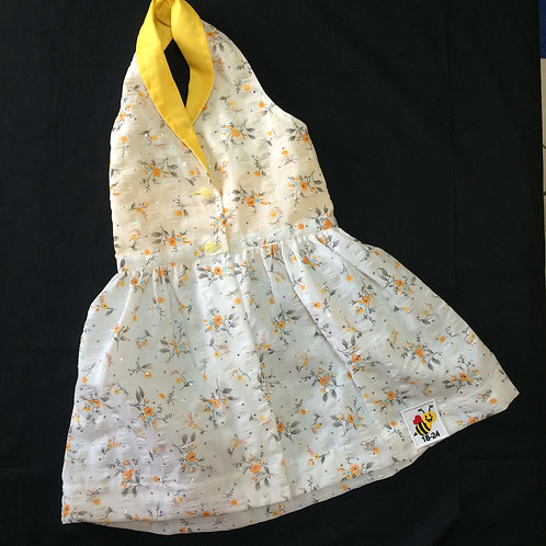 Halterneck Dress - Yellow (18-24m)