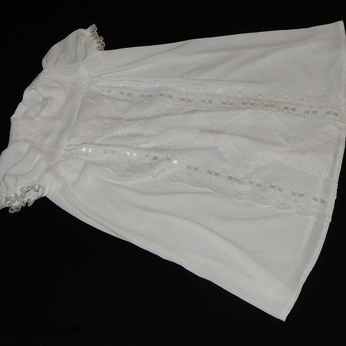 Christening Dress - Short White