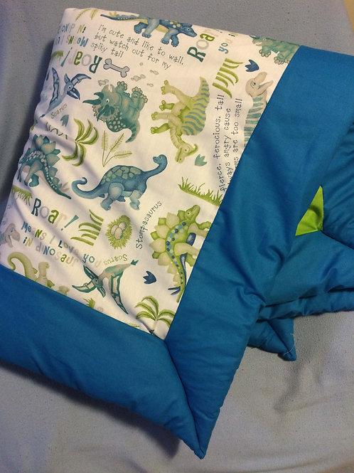Blanket in a bag - Dinosaur