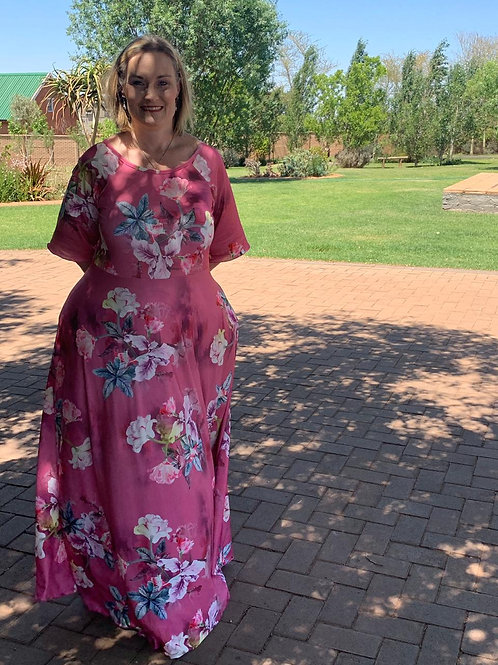 Floral Summer Dress - Plus Sizes