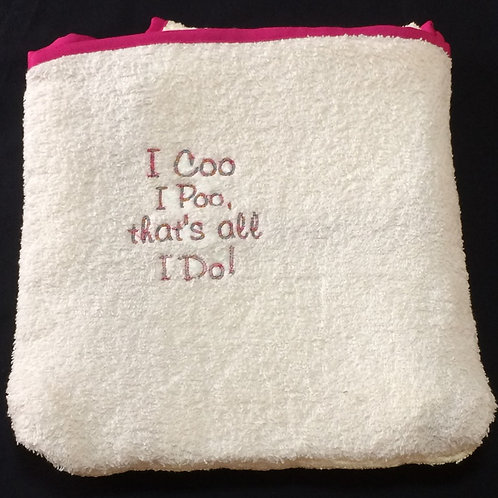 Baby towel in a Bag
