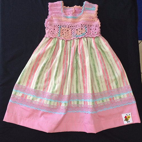 Summer Dresses - Pink (3-4 years)