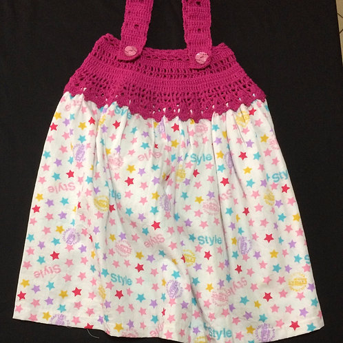 Summer Dresses - Stars (5 - 6 Years)