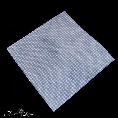 Cot Textiles - Grey check