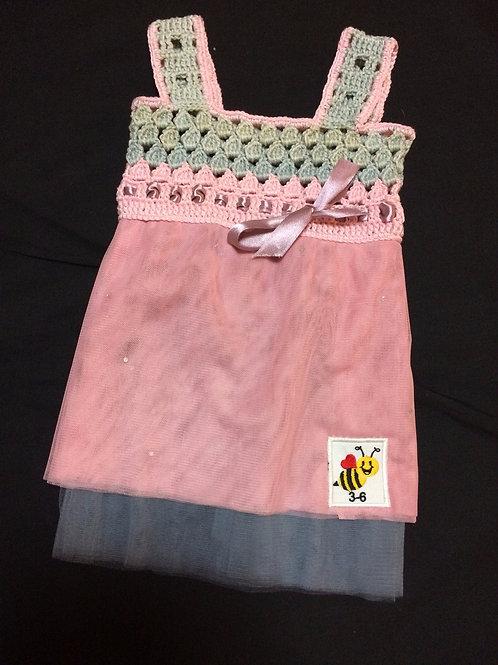 Summer Dresses - Pink (3-6m)